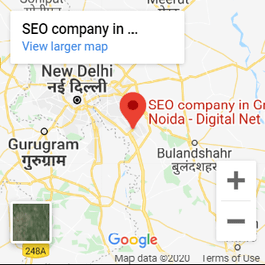 Digital Net India Map